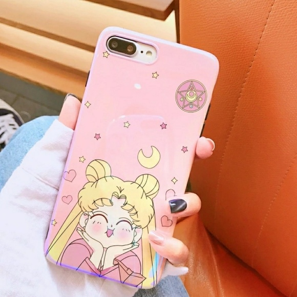 big sale d1677 5d4e7 iPhone 7/8/Plus/X/XS❤️️Sailor moon phone cases Boutique
